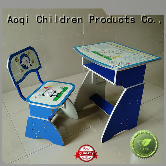 Aoqi study table chair online factory for household