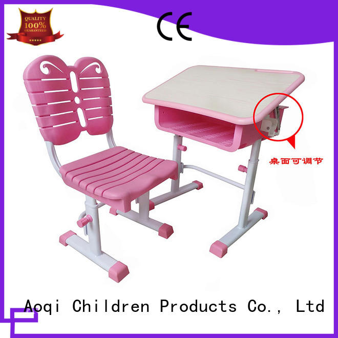 Aoqi children study table chair for child with good price for household