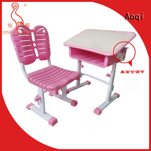 Aoqi study table and chair for students factory for study