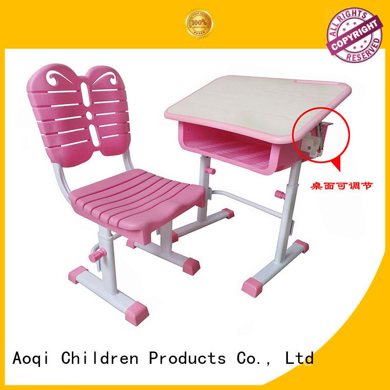 Hot table children's study table and chair study plastic Aoqi Brand