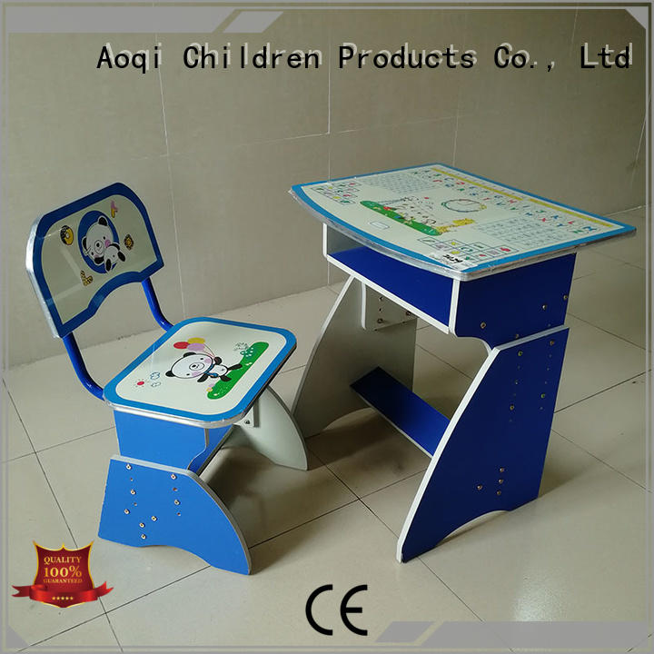 Aoqi study table with chair for child factory for home