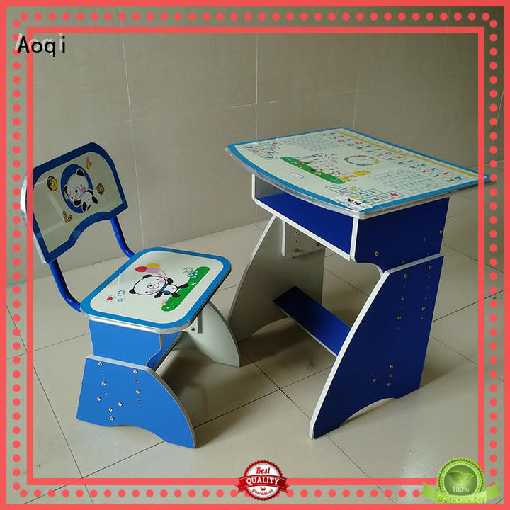 Aoqi children's study table and chair design for study