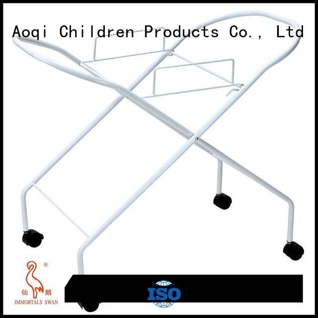 Wholesale adjustable folding baby bath stand Aoqi Brand