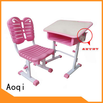 Aoqi stable study table with chair for child design for household