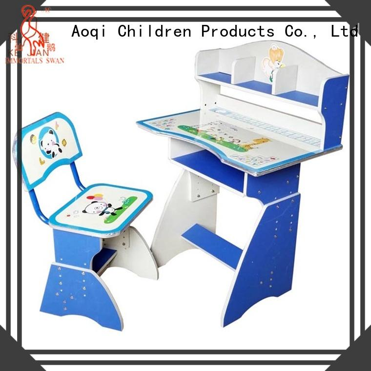 Aoqi quality kids study table set factory for home