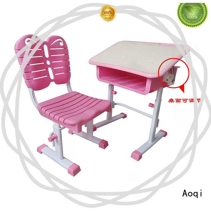quality baby study table chair set with good price for household Aoqi