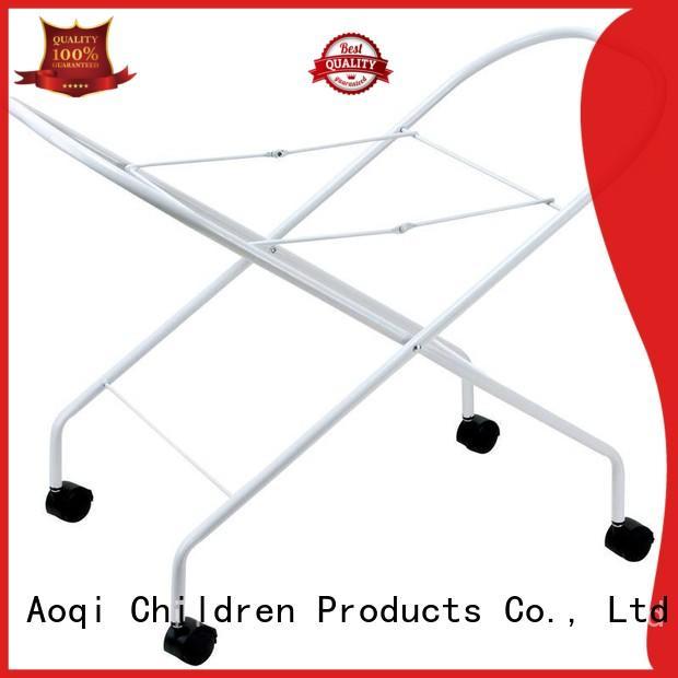 Aoqi white folding bath stand wholesale for bathroom