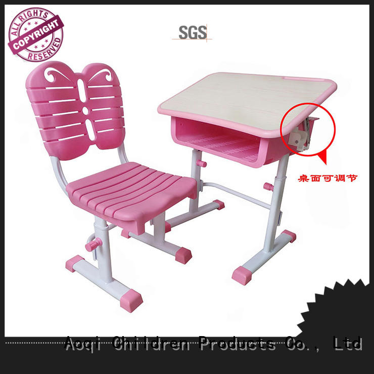 Metal and plastic table chair for children