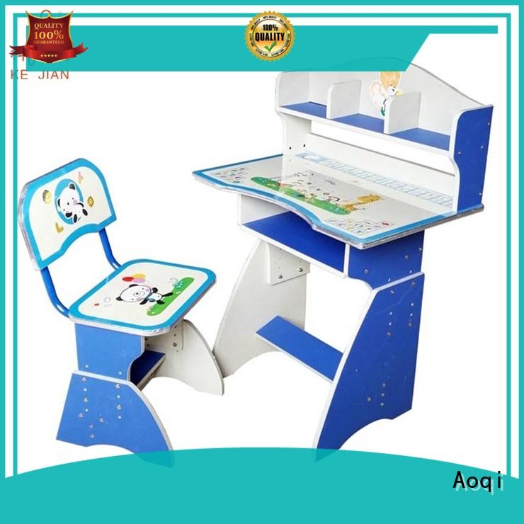 study table and chair for students chair for household Aoqi