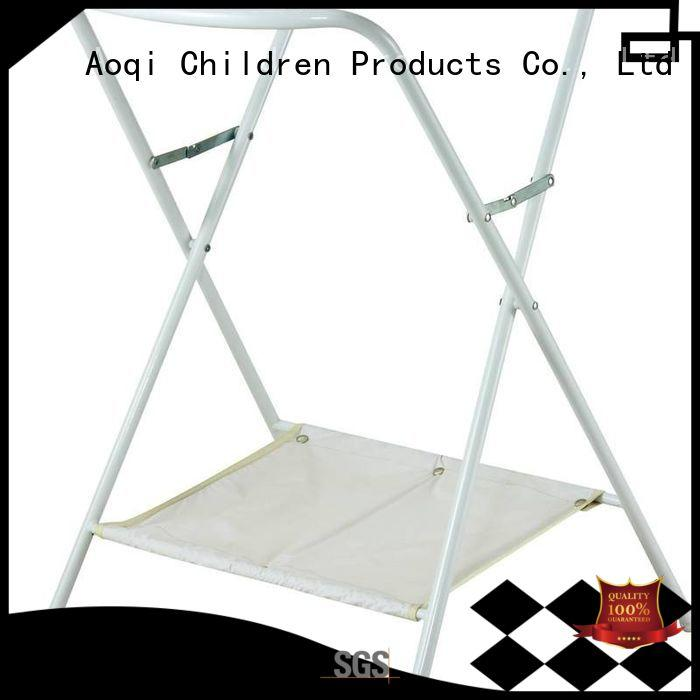 high quality safe folding baby bath stand affordable Aoqi company