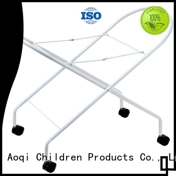 Aoqi Brand children folding baby bath stand standing supplier