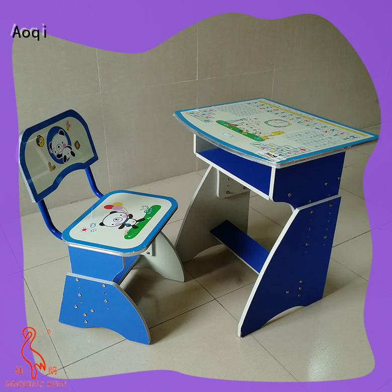 elegant study desk and chair set with good price for home