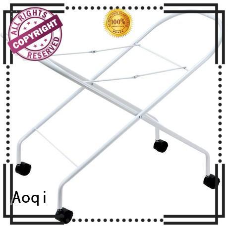 wholesale children adjustable baby bathtub stand metal Aoqi