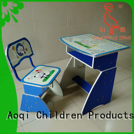 Aoqi study table and chair for students with good price for household