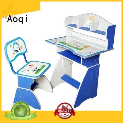 Aoqi excellent study table and chair for students with good price for household