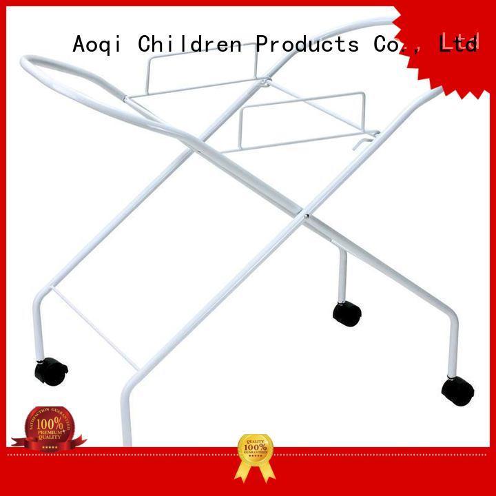 Aoqi Brand foldable safe kids baby bathtub stand