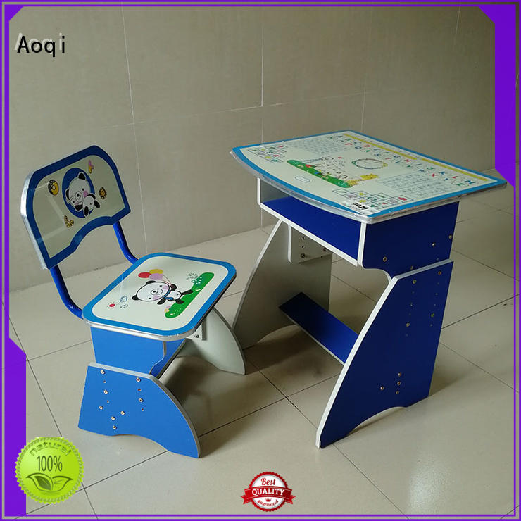 Aoqi quality kids study table set children for study