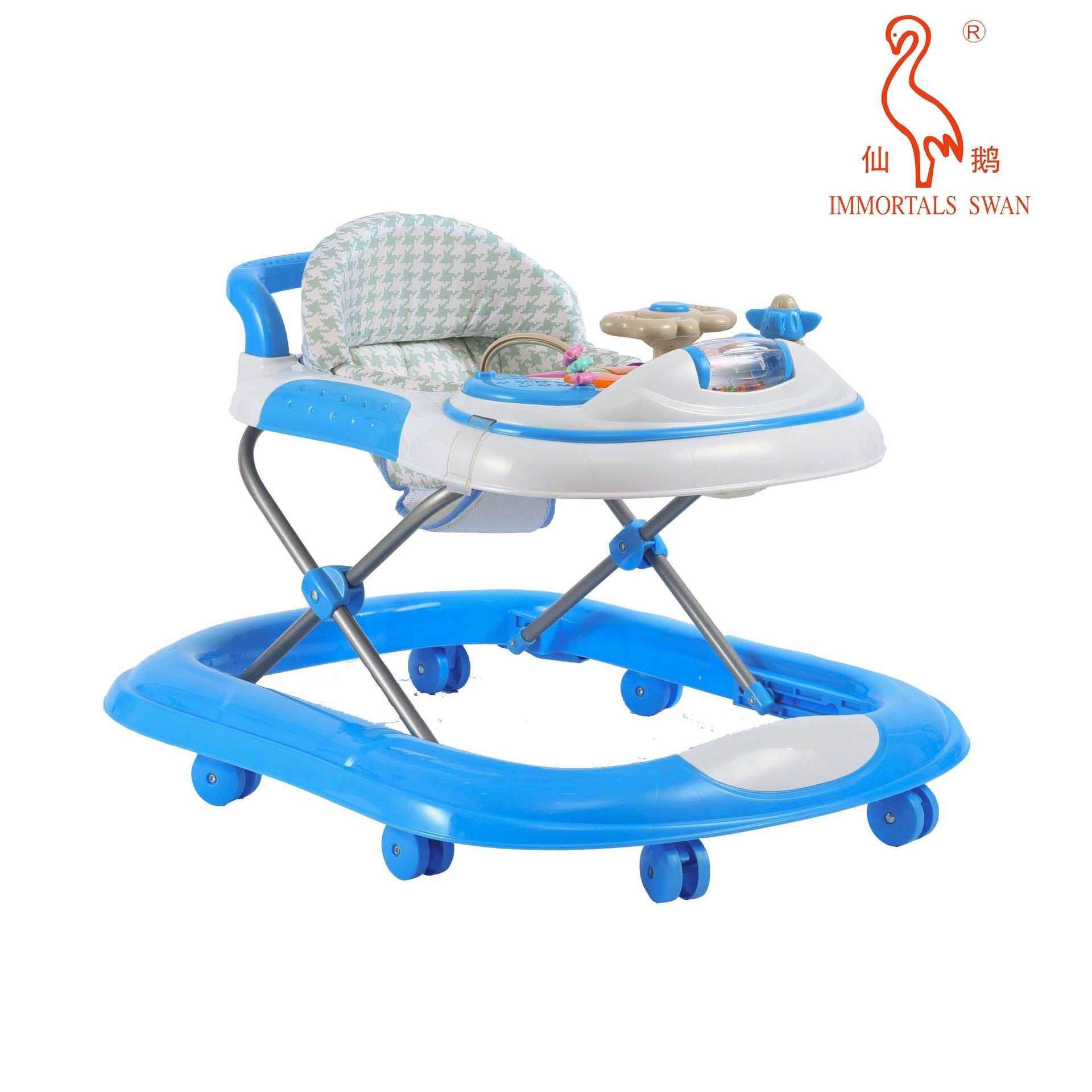 Custom Adjustable Baby Walker Factory From China