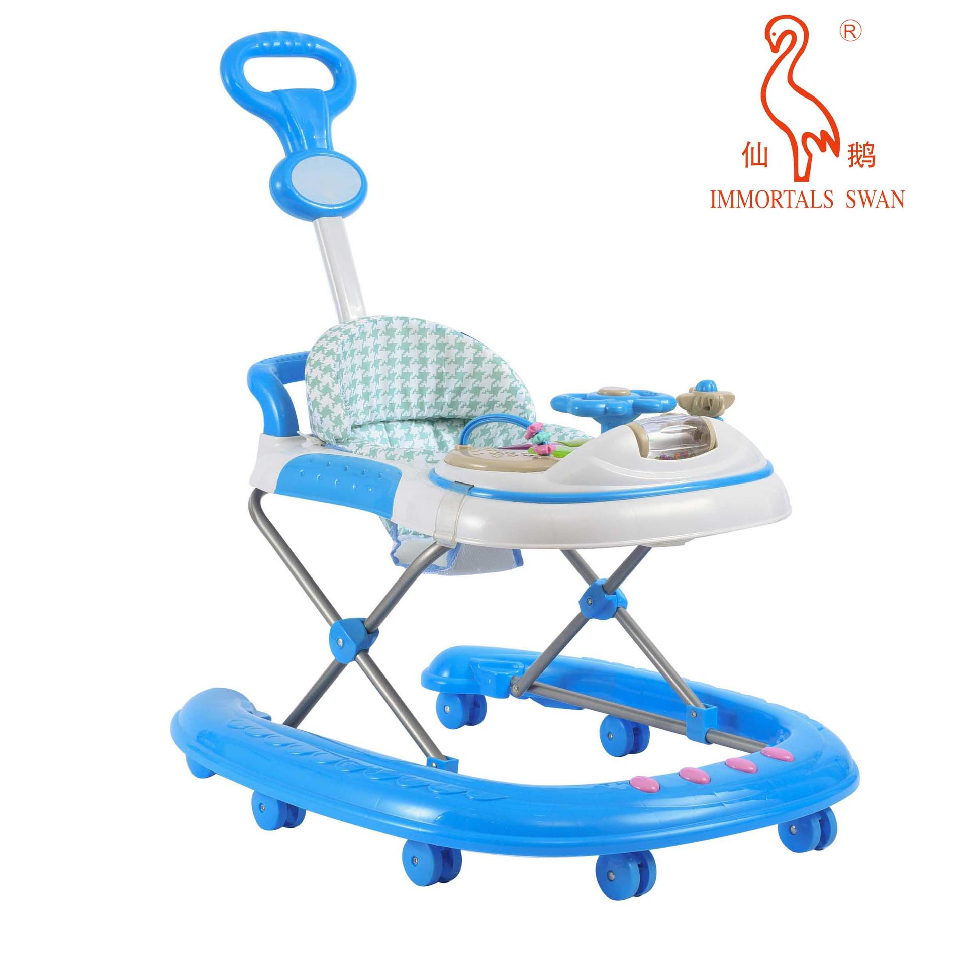 Wholesale Baby Walker with Easy Fold Frame for Storage, Ages 6 months Plus With Good Price-Aoqi