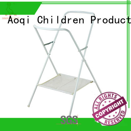 Aoqi pink mothercare bath stand factory price for household