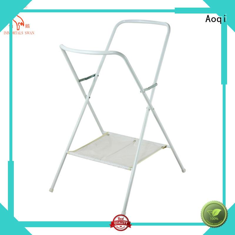 Wholesale metal folding baby bath stand children Aoqi Brand